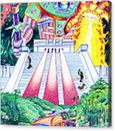 International Incident Mexico Acrylic Print