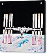 International Space Station 2011 Acrylic Print