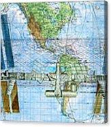 International Space Station Acrylic Print