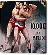 International Wrestling Championship Acrylic Print