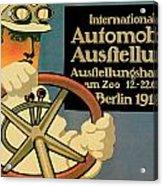 Internationale Automobile Ausftellung Acrylic Print
