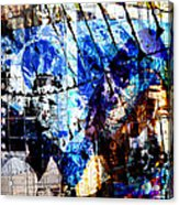Interstate 10- Exit 257a- St Marys Rd / 6th St Underpass- Rectangle Remix Acrylic Print
