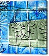 Interstate 10- Exit 258- Broadway Blvd / Congress St Underpass- Rectangle Remix Acrylic Print