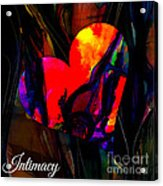 Intimacy Acrylic Print