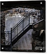 Into The Alley - Old Montreal Acrylic Print