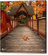 Into The Autumn Acrylic Print