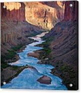 Into The Canyon Acrylic Print