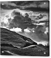 Into The Clouds Acrylic Print by Andrew Soundarajan