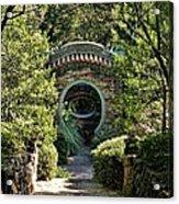 Into The Enchanted Garden Acrylic Print