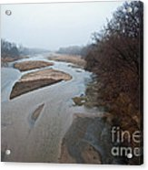 Into The Mist Acrylic Print by Fred Lassmann