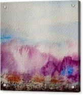 Into The Mist I Acrylic Print