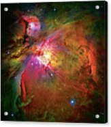 Into The Orion Nebula Acrylic Print