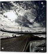 Two-lane Escape Acrylic Print