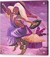 Intore Dance From Rwanda Acrylic Print