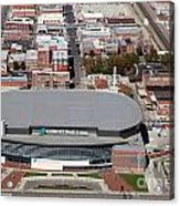Intrust Bank Arena And Old Town Wichita Acrylic Print