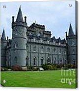 Inveraray Castle In Argyll Acrylic Print