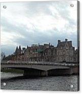 Inverness And Bridge Acrylic Print
