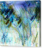 Inverted Light Abstraction Acrylic Print