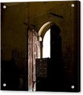 Invitation To The Templar Church Acrylic Print