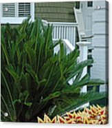 Inviting Front Porch Acrylic Print by Bruce Gourley