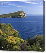Ionian Sea Coast Albania Acrylic Print