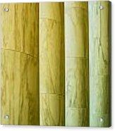 Ionic Architectural Columns Details Acrylic Print