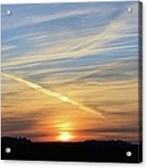 Iowa Sunrise Acrylic Print