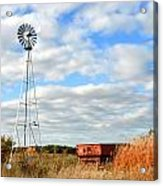 Iowa Windmill Acrylic Print