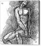 iPhone-Case-Nude-Male1 Acrylic Print
