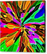 Iphone Cases Colorful Flowers Abstract Roses Gardenias Tiger Lily Florals Carole Spandau Cbs Art 180 Acrylic Print