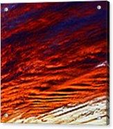 iPhone Southwestern Skies Acrylic Print