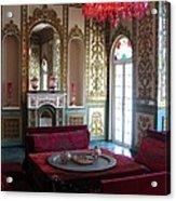 Iran Golestan Palace Interior  Acrylic Print