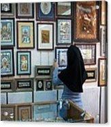 Iran Isfahan Art Shop Acrylic Print