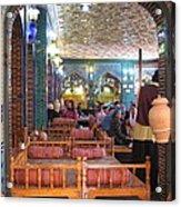 Iran Isfahan Restaurant Acrylic Print