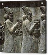Iran. Persepolis. Apadana Or Audience Acrylic Print