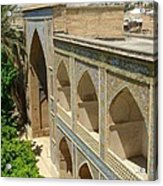 Iran Shiraz Mosque And School Acrylic Print