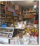 Iran Shiraz Shop Owner Acrylic Print by Lois Ivancin Tavaf