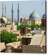 Iran Yazd From The Rooftops  Acrylic Print