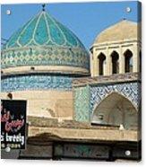 Iran Yazd Old And New Acrylic Print