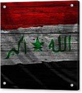 Iraq Acrylic Print