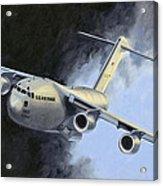 Iraqi Bound Acrylic Print by Karen Wilson
