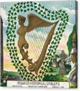 Ireland 1894 Acrylic Print