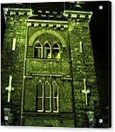 Ireland Church IIi Emerald Night Acrylic Print