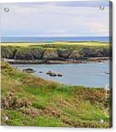 Ireland Coastline Panorama Acrylic Print