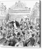 Ireland Election, 1857 Acrylic Print