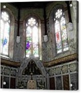Ireland St. Brendan's Cathedral Stained Glass Acrylic Print
