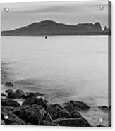 Ireland's Eye In Black And White Acrylic Print
