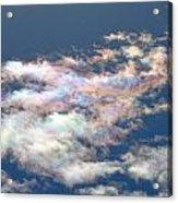 Iridescent Clouds Acrylic Print