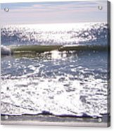 Iridescent Waves Acrylic Print