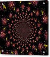 Iris And Foliage Acrylic Print